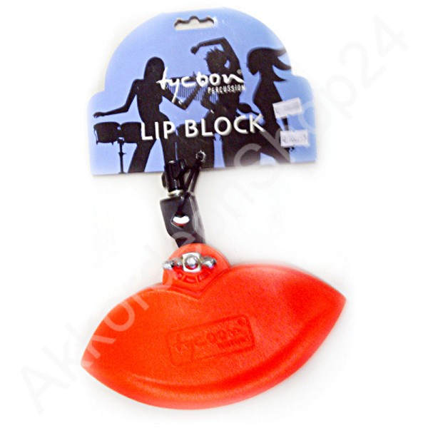 Tycoon Lip Block TTB-L - rot