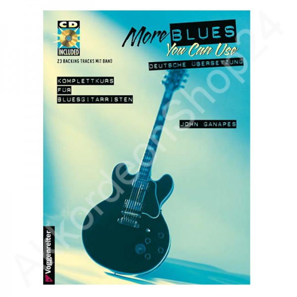 John Ganapes - More blues you can use (mit CD)