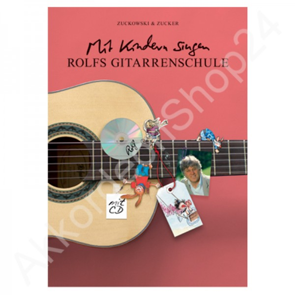 Rolfs Gitarrenschule mit CD