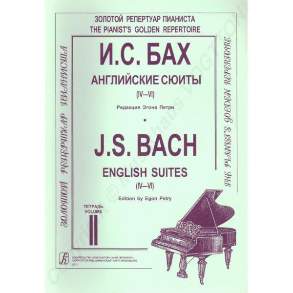 Johann Sebastian Bach Englische Suiten IV-VI