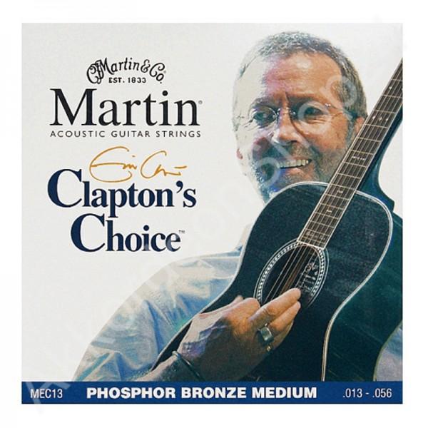Martin Claptons Choice 92/8 Phosphor Bronze 013/056