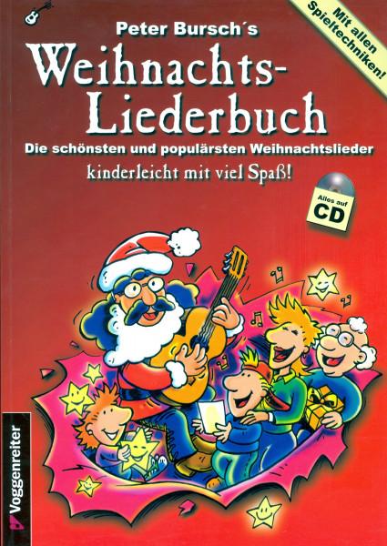 Peter Bursch's Weihnachts-Liederbuch mit CD