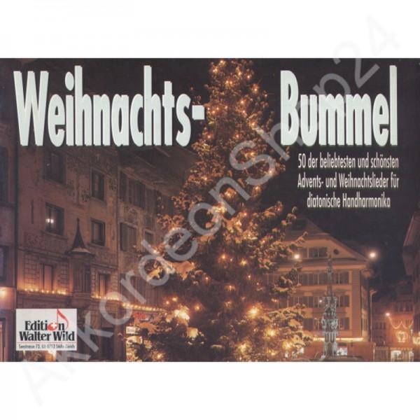 Weihnachtsbummel für diatonische Handharmonika.