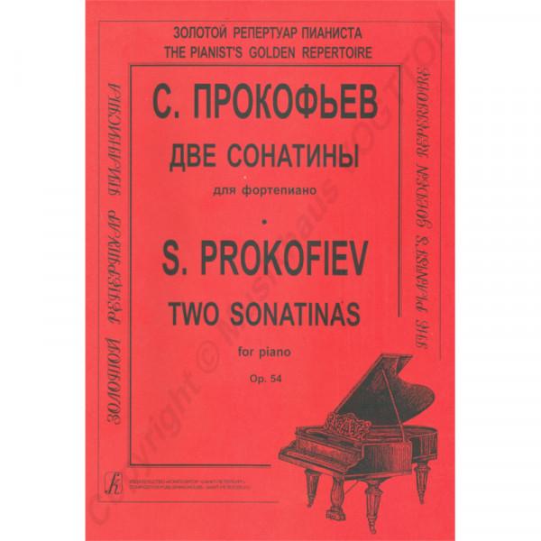 Sergej Prokofjew zwei Sonatinen für Klavier