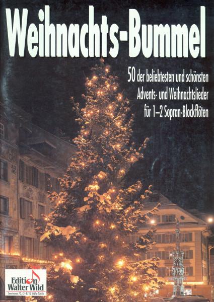 Weihnachtsbummel für 1-2 Sopran-Blockflöten