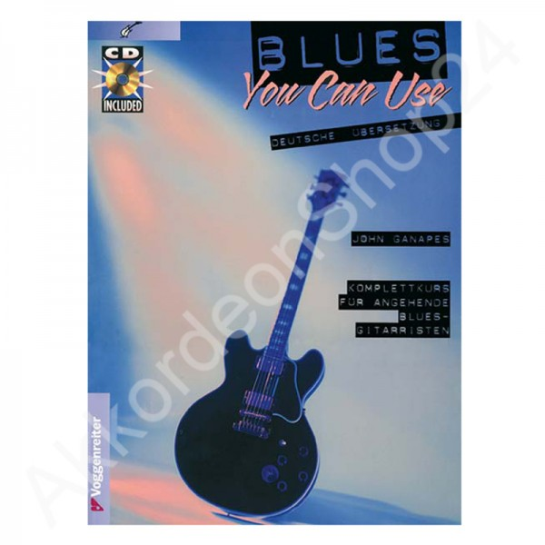 John Ganapes - Blues you can use (mit CD)