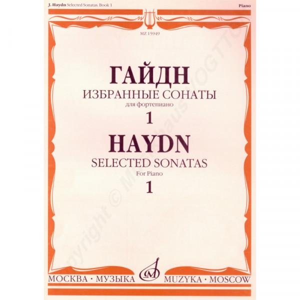 Haydn Joseph. Ausgewählte Sonaten für Klavier. Buch 1